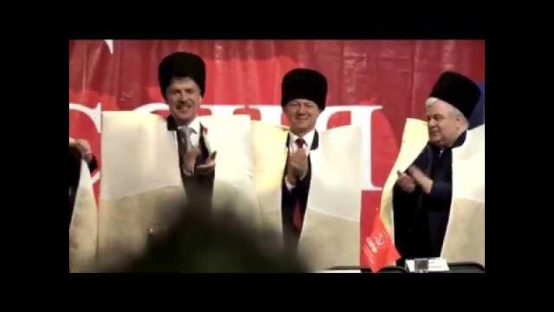 Грудинин на Кавказе! Лезгина, бурки и барабаны! Тёплое радушное гостеприимство Кавказа