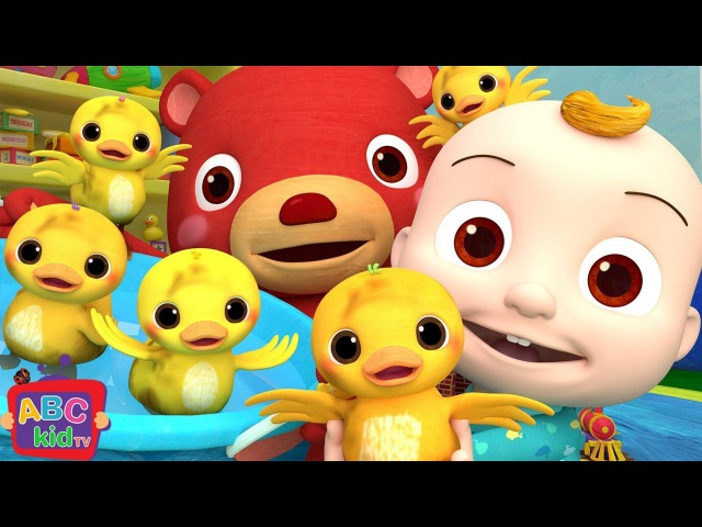 The Duck Hide and Seek Song | Nursery Rhymes Kids Songs - ABCkidTV