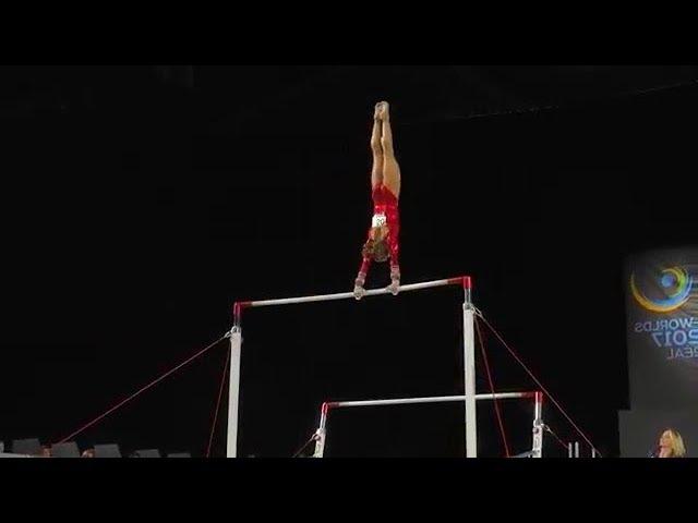 Ragan Smith Bars 2017 World Championships Qualification