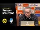 Michy ist ein echter Torjäger Peter Stöger BVB Atalanta Bergamo 3 2