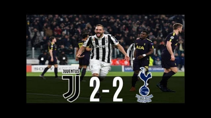 Juventus vs Tottenham 2 2 All Goals Highlights 13 2 2018 HD