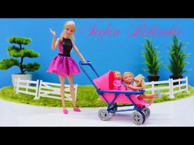 Eğlencelioyunlar.Barbie ailesi YENİ DOĞAN BEBEK için eşya alıyor. Aile oyunu kızkanalında