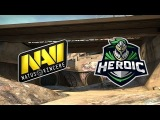 RU Na'Vi vs Heroic  Swiss B03 Day 4  StarSeries &amp i-league Season 4  CS GO LIVE