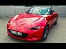 Несмотря на экономию! Первый тест драйв Mazda MX 5 2016 - видео с YouTube-канала Clickoncar