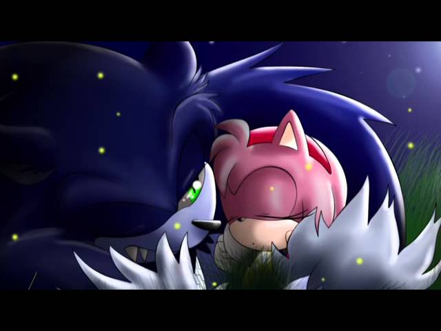 Sonic the werehog and Amy ❤️