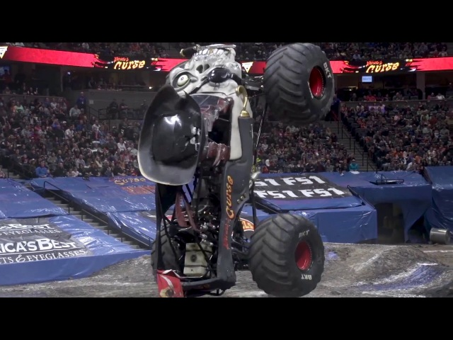 Monster Jam Denver Highlights - Triple Threat Series West - Feb 9-11, 2018