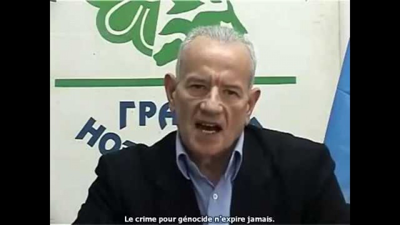 Un écologiste s'oppose aux chemtrails et aux OGM