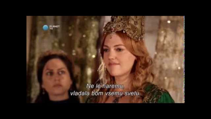 Muhtesem Yüzyil Sulejman Veličastni Hurrem's Monologue slovenian and english subtitles HD