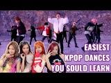 EASY KPOP DANCES (YOU SHOULD LEARN) K-POP