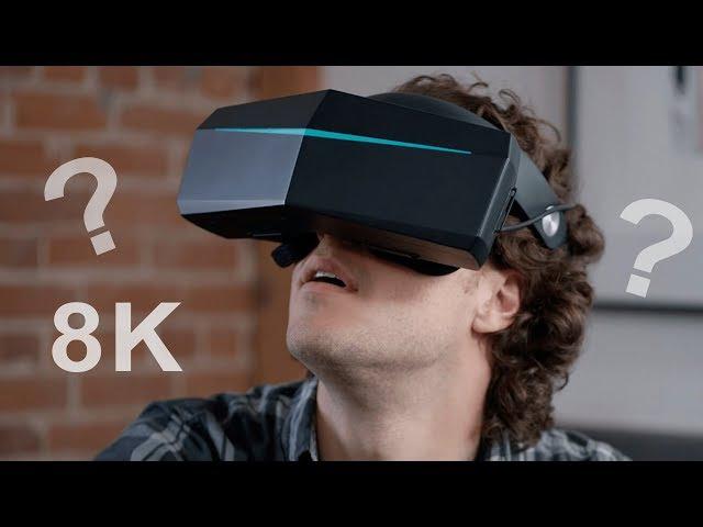 VR с разрешением 8K, что я увидел