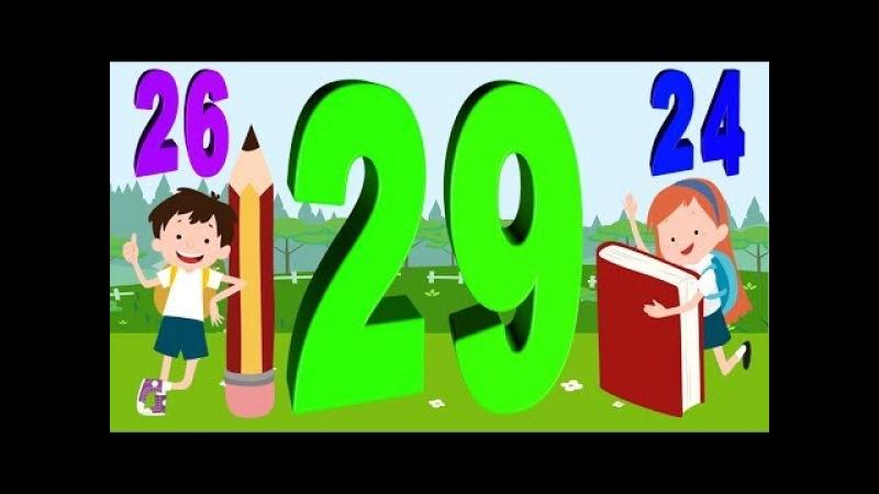 Dạy bé học đêm số - dạy bé học đếm - dạy số đếm cho bé - bé học đếm số tiếng việt