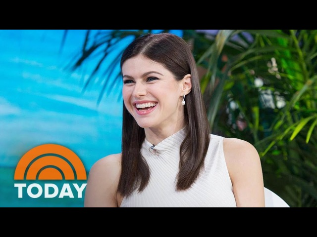 Alexandra Daddario On Her Bikini Scenes With Zac Efron In 'Baywatch' | TODAY