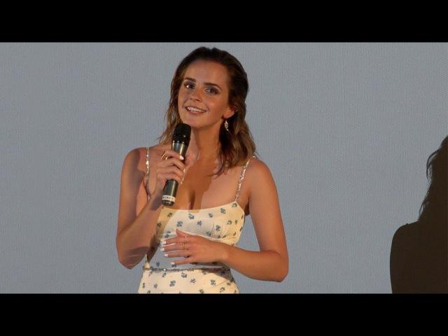 The Circle - Emma Watson - Avant-première (Paris, UGC Normandie, 21 juin 2017)