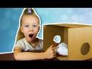 😱 Что в коробке челлендж пена, киндер сюрприз, снежинка, антистресс whats in the box challenge