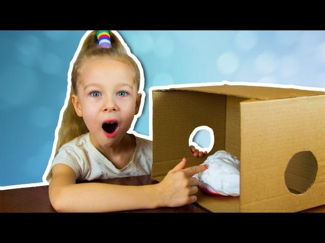 😱 Что в коробке челлендж пена, киндер сюрприз, снежинка, антистресс what's in the box challenge
