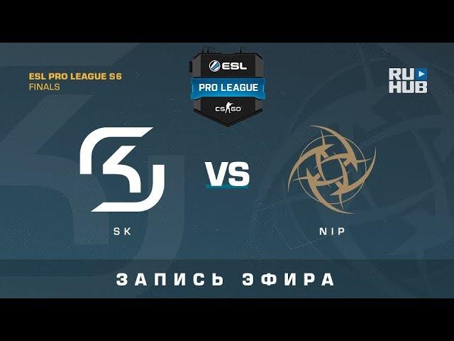 SK vs NiP - ESL Pro League Finals - de_overpass [yXo, Enkanis]