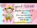 Tilda Baby Decoupage y Estampado SORTEO CERRADO KLOF 💕