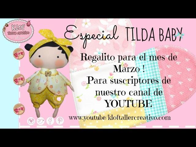 Tilda Baby - Decoupage y Estampado SORTEO CERRADO | KLOF 💕