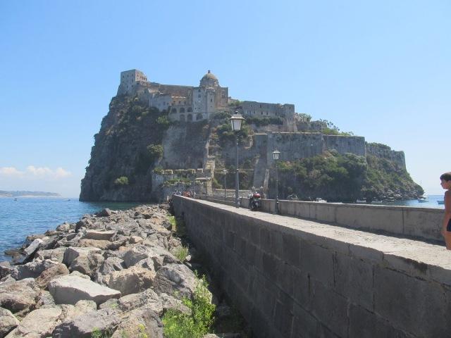 Castello Aragonese dIschia Italy Арагонский замок