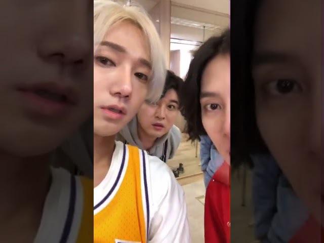 180123 슈퍼주니어 슈퍼TV 인스타그램 라이브-예성(시작 전)