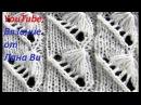 НЕОБЫЧНЫЙ узор спицами ракушка , ВЫТЯНУТЫЕ петли. Вязание: красивые узоры спицами