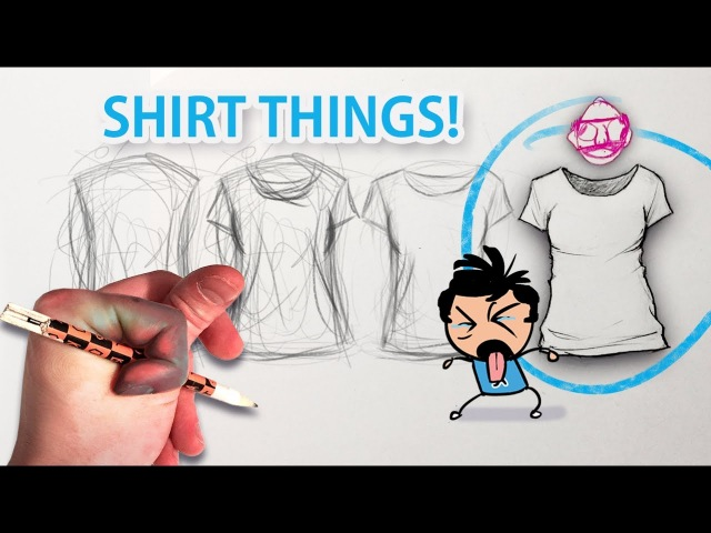 Can't draw clothes? Watch this 👌(wrinkles, folds, creases)