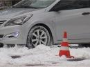 Уроки вождения по снежным дорогам