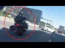 20 Minutes Motorcyle High Speed Chase On Police Helmet Cam in Finnland