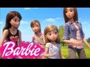 Мультик Барби и щенки в поисках сокровищ! Тайный ход. Мультики для девочек Barbie