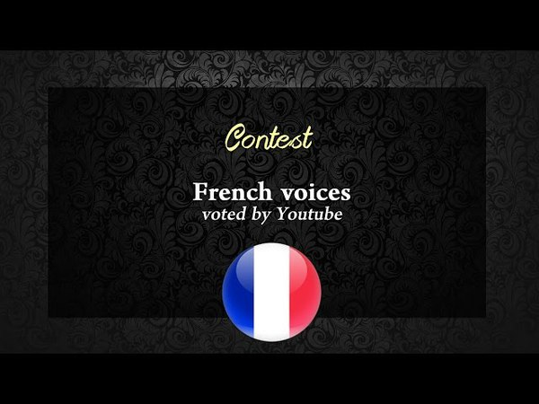 Who is your favourite French Non/Disney Princess voice ? Result !