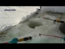 Зимняя рыбалка на вкусного карася.mp4