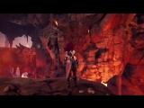 Потоки лавы и монстры в новом геймплее Darksiders III.