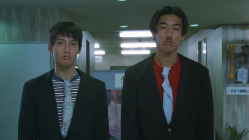 РЕБЯТА ВОЗВРАЩАЮТСЯ (1996) - криминальная драма, спорт. Такеши Китано 1080p