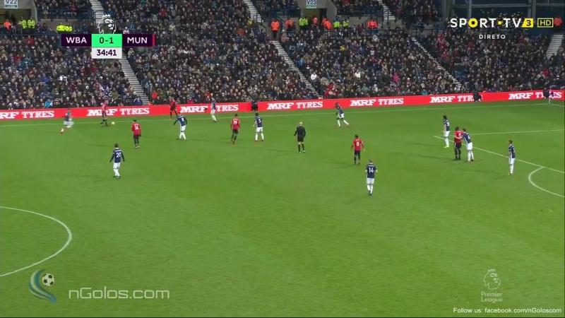 West Brom 0-2 Manchester United - Jesse Lingard 35'