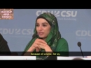 """Germany: Muslim spokesperson from JUMA (Young, Muslim, Active) says """"we don't have to integrate"""""""