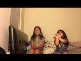 Duct Tape Challenge with Val &  Zoey ! xo.alize