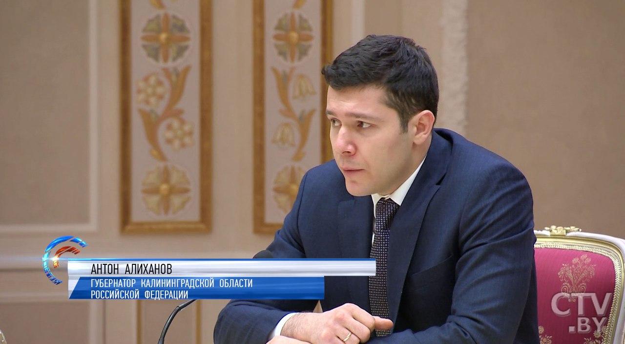 Антон Алиханов ищет водителей иавтобусы для Калининграда в Беларуси