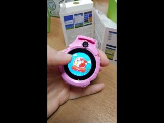 Часы детские с GPS модель 610