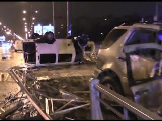 В ДТП с микроавтобусом и Мерседесом в Санкт-Петербурге погибли четыре человека