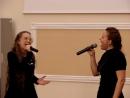 Ирина Бархатова и Василиса Матвеева. Держи меня за руку. Конгресс. 23.11.2017. Тюмень