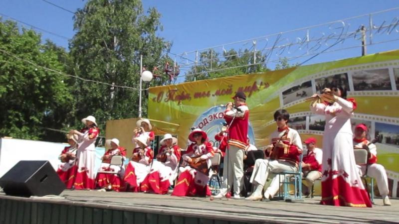 MVI_4816 фрагмент концерта оркестра Лад в парке 30-летия ВЛКСМ