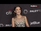 Netflix's 'Stranger Things' Cast Millie Bobby Brown, Winona Ryder, Charlie Heaton 2018 PaleyFest LA