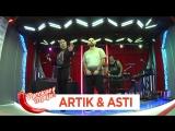 Концерт группы Artik & Asti в утреннем шоу