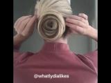 Делам сами классную причёску за 5 минут.