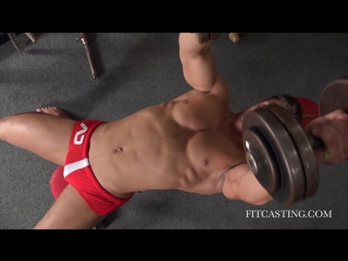 New Face Czech Fitness Model Pavel Casting