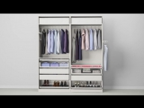 Выбери сам наполнение шкафа.  Check out how to get beautifully organised in this wardrobe doors and interiors