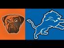 NFL 2017-2018  Week 10  12.11.2017  Cleveland Browns @ Detroit Lions