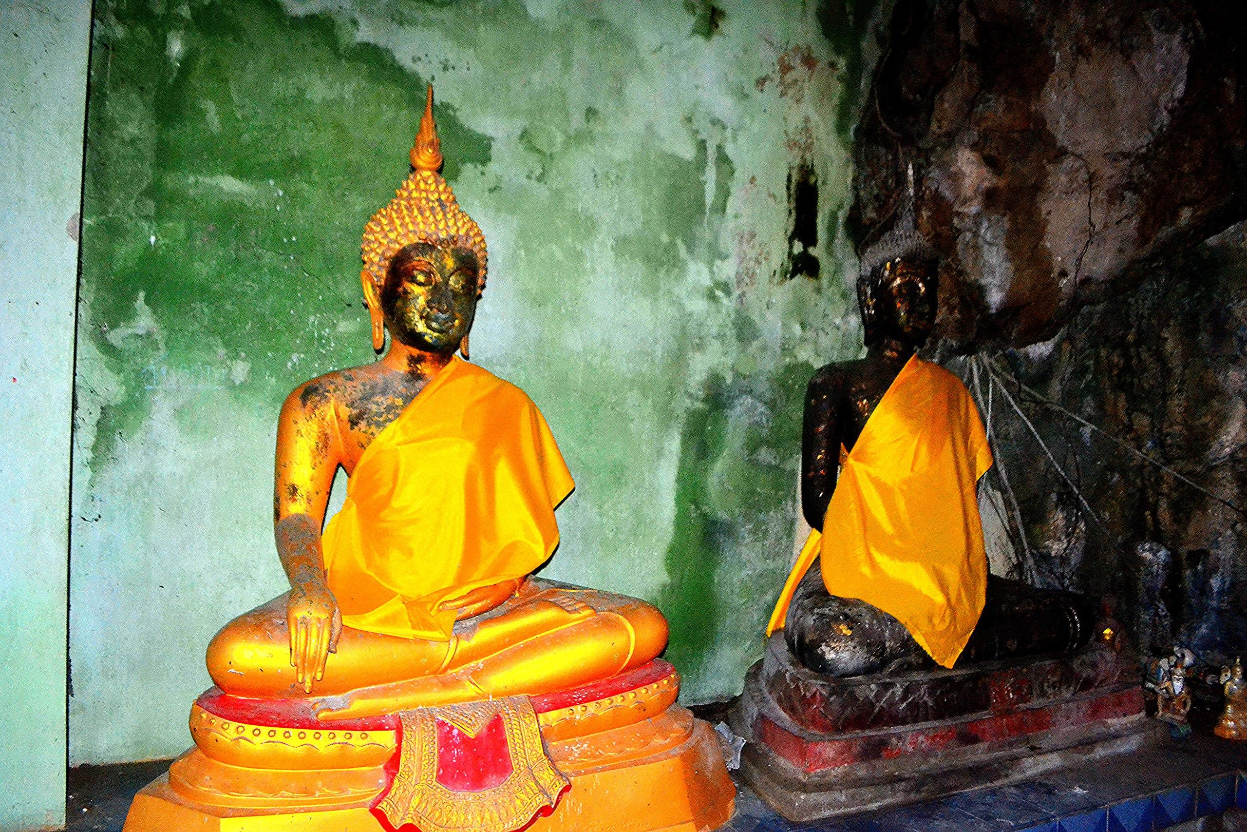 Елена Руденко (Валтея). Таиланд. Таиланд. Paтчaбуpи: Пещера страха, Пещера мышей, Буддийский храм BOgdB6H1UKE