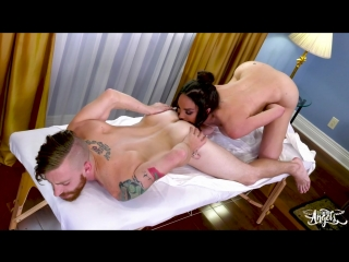 [transangels] jonelle brooks - jonelle a raw rubdown ride [2018 г., shemale on male, hardcore, anal, bareback, 720p]