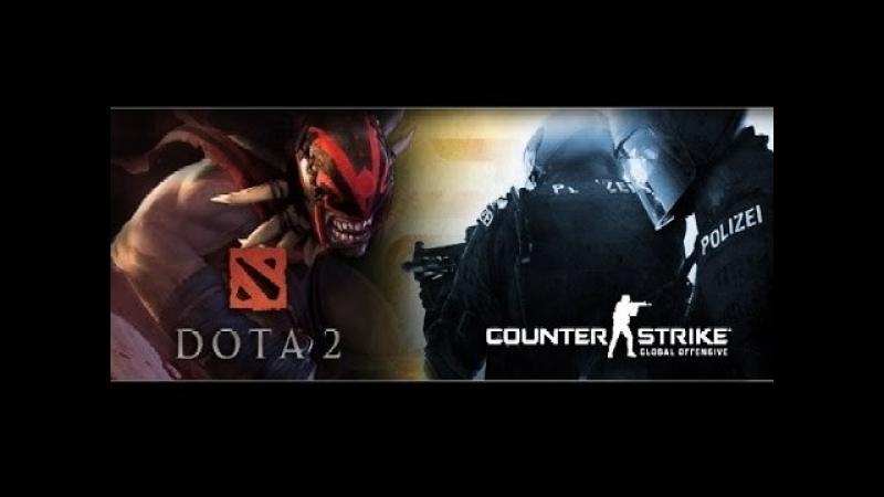Counter-Strike: Global Offensive - DOTA 2